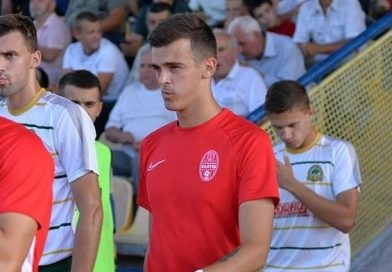 Святослав Лаврук – гравець «Юності»