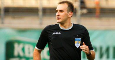 Денис Резніков – арбітр матчу «Олімпік» – «Прикарпаття»