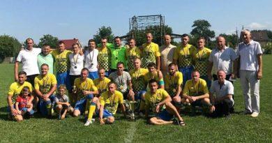 Галицький р-н: ФК «Мединя» – володар Кубка Галицького району 2021 року